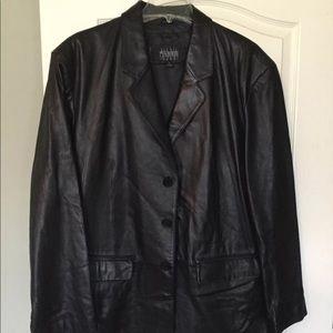 Men's Wilson's leather blazer